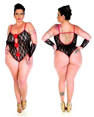Body sensual plus size espanhola