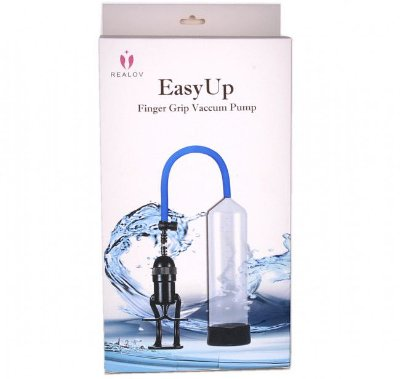 Easy Up - Bomba peniana com gatilho manual manopla