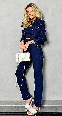 Calça Malha Jeans New York | NEXT STOP BLESSED