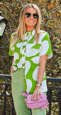 Camisa Bolas C/ Bolsos e Botões Dourados Aruba | NEXT STOP BLESSED