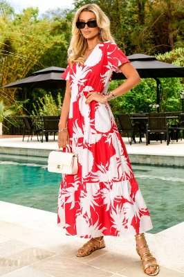 Vestido Tricoline Abacaxi Grace Bay | NEXT STOP BLESSED