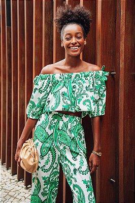 Blusa Ciganinha Paisley Rio | NEXT STOP BLESSED
