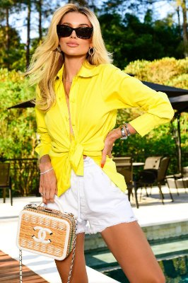 Camisa Tricoline Basic Color Rio| NEXT STOP BLESSED