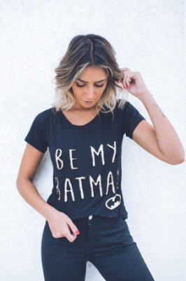 Tee Be My Batman Bordado