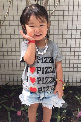 Tee Blessinha I love Pizza