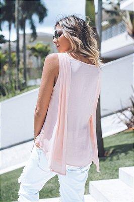 SALE | Blusa Pregas Detalhe