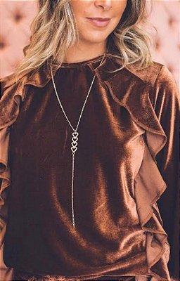 Colar Blessed Heart pendant  (Coração)