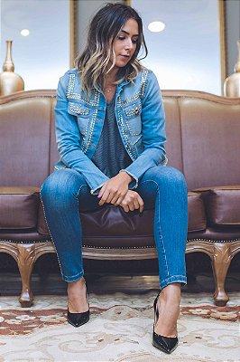 SALE | Calça Jeans Tachas