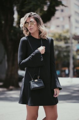 Vestido Basic Black