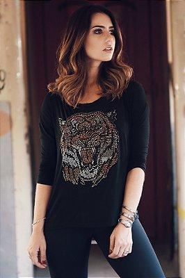 Blusa Tigre Brilhos
