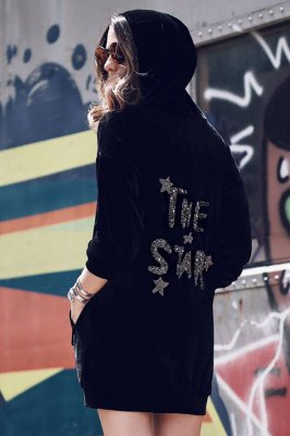 LANÇAMENTO | Vestido Veludo The Star