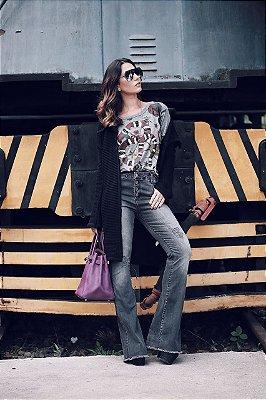 LANÇAMENTO | Calça Jeans Flare