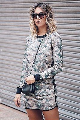 LANÇAMENTO | Vestido Camuflado Estrela