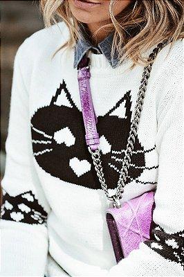 Tricot Gato White