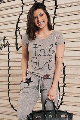 LANÇAMENTO | T-shirt Fab Girl