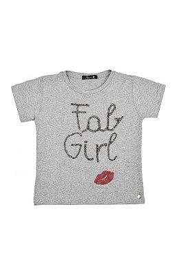LANÇAMENTO | T-shirt Fab Girl Blessinha