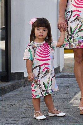 SALE | Vestido Onça Folhagem Blessinha
