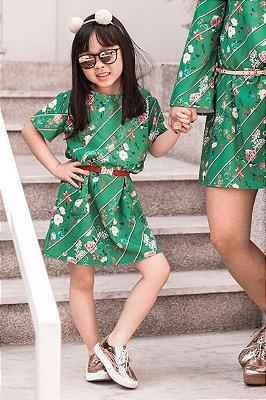 SALE | Vestido Manga Sino Summer Floral Blessinha