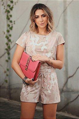 SALE | Conjunto Camuflado Millennial Pink