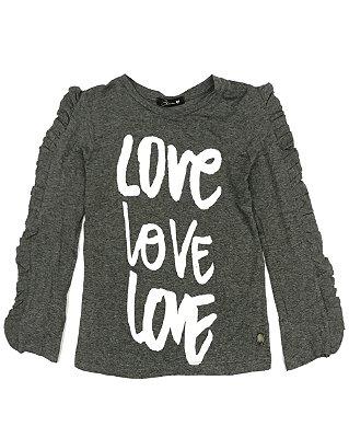 Blusa Love Love Love Blessinha