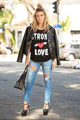 OUTLET | Calça Jeans Rasgos Destroyed