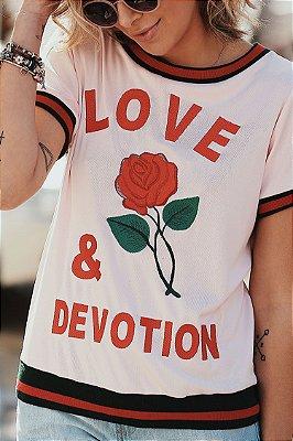 Lançamento | Blusa Love & Devotion Punho