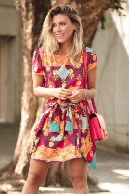 LANÇAMENTO | Vestido Estampa Abacaxi