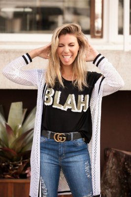 SALE | Blusa Blah Bordada