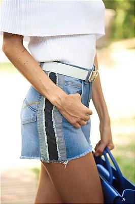 SALE | Shorts Jeans Faixa Lateral