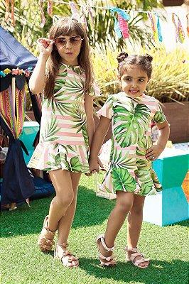 LANÇAMENTO | Vestido Blessinha Estampa Havaí Listrada