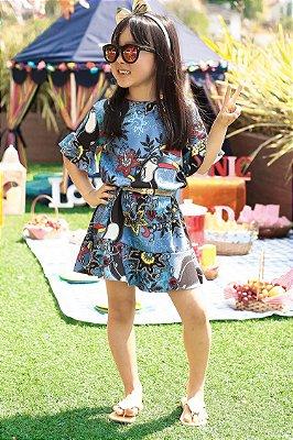 LANÇAMENTO | Vestido Blessinha Estampa Tucano