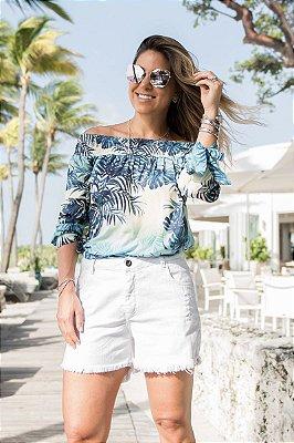 SALE | Shorts Jeans Sarja Branco