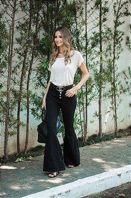 LANÇAMENTO | Calça Flare Blessed Black