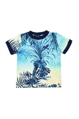 LANÇAMENTO | Blusa Blessinha Estampa Folhagem Azul