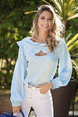SALE | Camisa Listras Azul