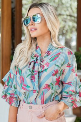 LANÇAMENTO | Camisa Estampa Summer Bird