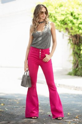 SALE | Calça Flare Blessed Pink