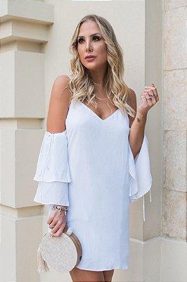 SALE | Vestido Regata Estella Branco