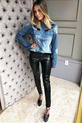 LONDON COLLECTION   Calça Skinny Exclusive Black Letage