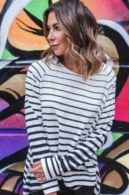 LONDON COLLECTION | Blusa Listrada Floyd