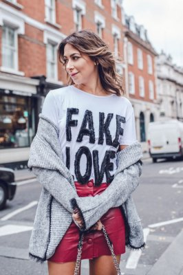 LONDON COLLECTION | Blusa Fake Love Bordado