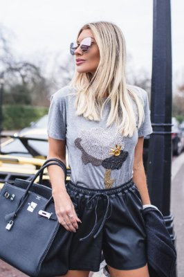 LONDON COLLECTION | Blusa Bordado Nuvem/Sol