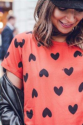 LONDON COLLECTION | T-Shirt Julie Corações