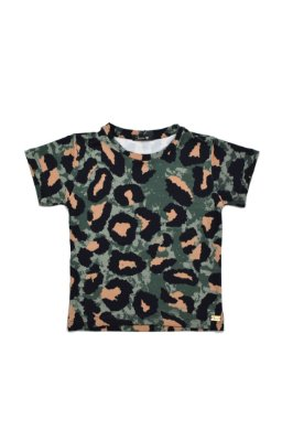 LONDON COLLECTION | Blusa Jaguar Camuflada Blessinha