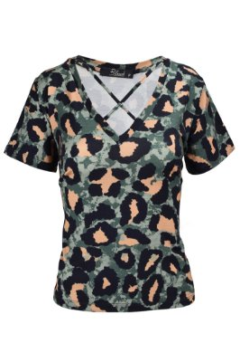 LONDON COLLECTION | Blusa Jaguar Camuflada