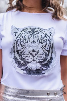 LONDON COLLECTION | Blusa Tiger Bordado