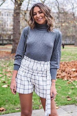 LONDON COLLECTION | Shorts Xadrez Doris