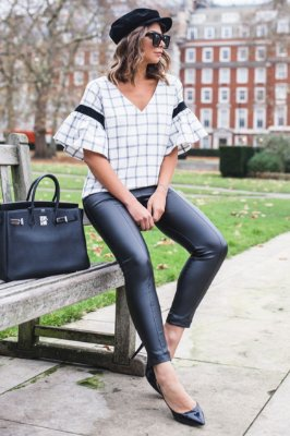 LONDON COLLECTION | Blusa Xadrez Doris