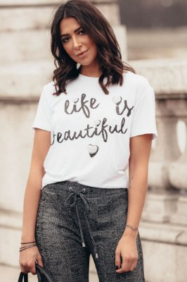PARIS COLLECTION | Blusa Life Is Beautiful