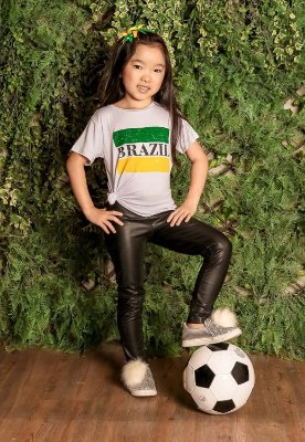 WORLD CUP | Blusa Blessinha Brazil